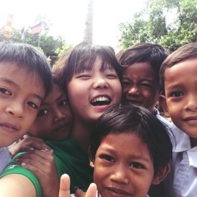 カンボジアでチャイルドケア&地域奉仕活動 三木愛子